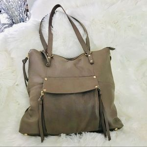 KOOBA Large Leather Tote brand new in taupe